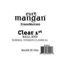 Curt Mangan Clear 1. Ball End Normal Tension Húr