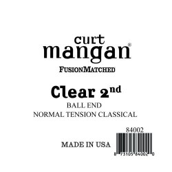 Curt Mangan Clear 2. Ball End Normal Tension Húr