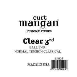 Curt Mangan Clear 3. Ball End Normal Tension Húr