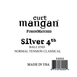 Curt Mangan Silver 4. Ball End Normal Tension Húr