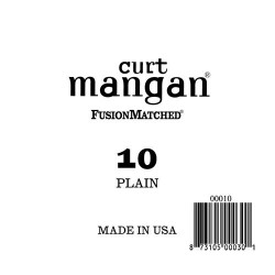 Curt Mangan 10 Plain Ball End Húr