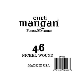 Curt Mangan 46 Nickel Wound Ball End Húr