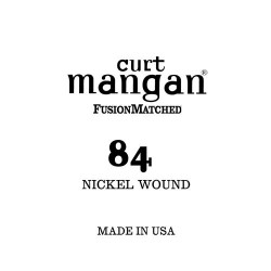 Curt Mangan 84 Nickel Wound Small Ball End Húr