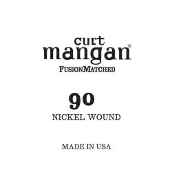 Curt Mangan 90 Nickel Wound Small Ball End Húr