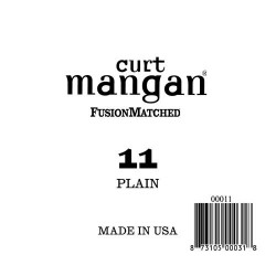 Curt Mangan 11 Plain Ball End Húr