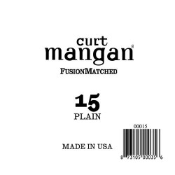 Curt Mangan 15 Plain Ball End Húr