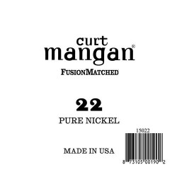 Curt Mangan 22 Pure Nickel Wound Húr