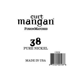 Curt Mangan 38 Pure Nickel Wound Húr