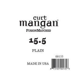 Curt Mangan 15.5 Plain Ball end Húr