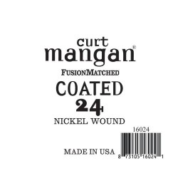 Curt Mangan 24 Nickel-Plated Steel Bevonatos Húr