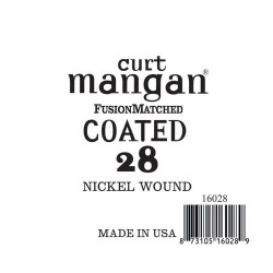 Curt Mangan 28 Nickel-Plated Steel Bevonatos Húr