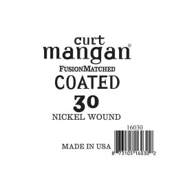 Curt Mangan 30 Nickel-Plated Steel Bevonatos Húr
