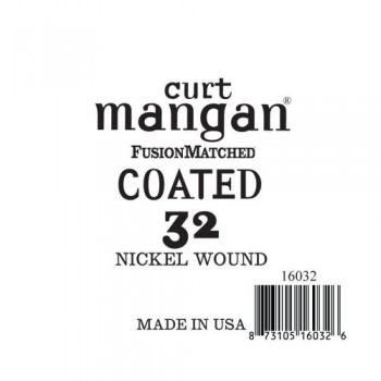 Curt Mangan 32 Nickel-Plated Steel Bevonatos Húr