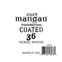Curt Mangan 36 Nickel-Plated Steel Bevonatos Húr