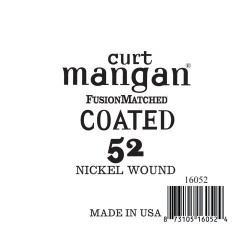 Curt Mangan 52 Nickel-Plated Steel Bevonatos Húr