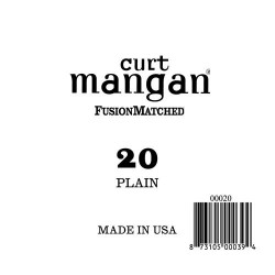 Curt Mangan 20 Plain Ball End Húr
