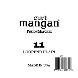 Curt Mangan 11 Plain Loop End Húr