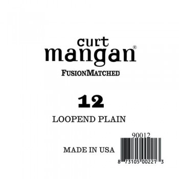 Curt Mangan 12 Plain Loop End Húr