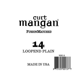 Curt Mangan 14 Plain Loop End Húr