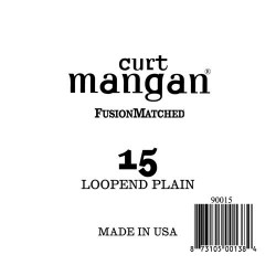 Curt Mangan 15 Plain Loop End Húr