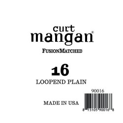 Curt Mangan 16 Plain Loop End Húr