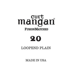 Curt Mangan 20 Plain Loop-End Húr