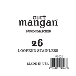 Curt Mangan 26 Stainless Loop-End Húr