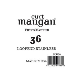 Curt Mangan 36 Stainless Loop-End Húr