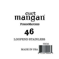 Curt Mangan 46 Stainless Loop-End Húr