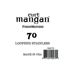Curt Mangan 70 Stainless Loop-End Húr
