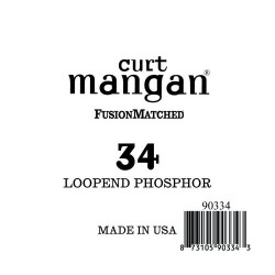 Curt Mangan 34 Phosphor Loop End Húr