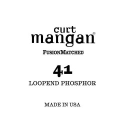 Curt Mangan 41 Phosphor Loop End Húr