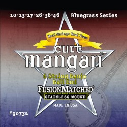 Curt Mangan Stainless Steel Ball End Bendzsó Gitár Bendzsó Húr Szett