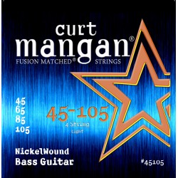 Curt Mangan 45-105 Nickel Wound Light Basszusgitár Húr Szett