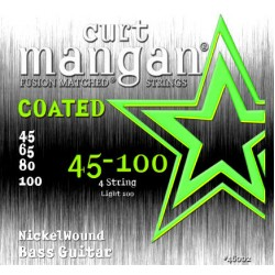 Curt Mangan 45-100 Nickel Wound Light Bevonatos Basszusgitár Húr Szett
