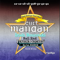 Curt Mangan 12-42 PhosPhor Bronze Ball End Ír Light Bouzouki Húr Szett