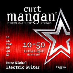 Curt Mangan 10-50 Pure Nickel Extra Light Gitár Húr Szett