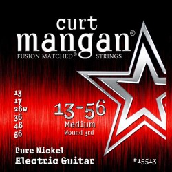 Curt Mangan 13-56 Pure Nickel Medium Gitár Húr Szett