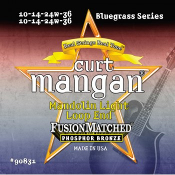 Curt Mangan 10-36 PhosPhor Bronze Light Mandolin Húr Szett