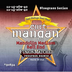 Curt Mangan 11-40 PhosPhor Bronze Ball End Medium Mandolin Húr Szett