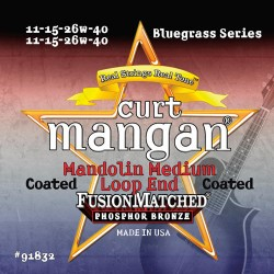 Curt Mangan PhosPhor Bronze Medium Bevonatos Mandolin Húr Szett