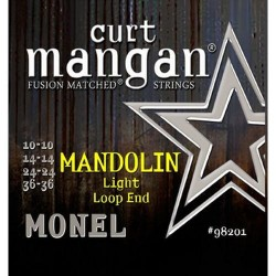 Curt Mangan 10-36 Monel Loop End Light Mandolin Húr Szett