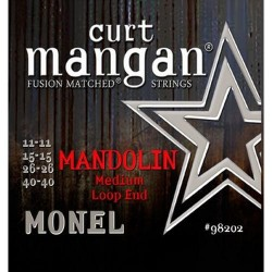 Curt Mangan 11-40 Monel Loop End Medium Mandolin Húr Szett
