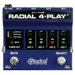 Radial 4 Play Multi-Output DI