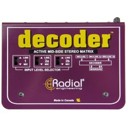 Radial Decoder Mid/Side Matrix és Mikrofon Előfok