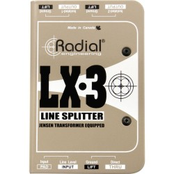 LX3 Passive Line-level Splitter