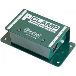 P-Clamp Flange-Mount for smaller-form Radial boxes