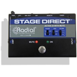 Radial Stage Direct Muting DI