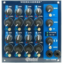 Radial WM8 MIXER WR8 RACK