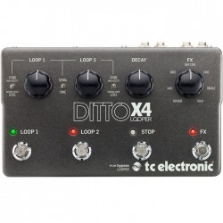 TC Electronic Ditto X4 Looper Pedál